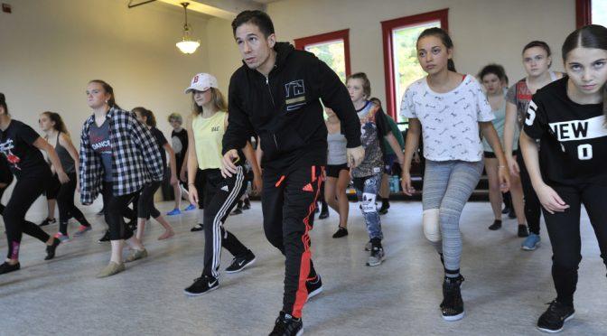 """Hamilton"" choreographer shows expert class in Gorham"