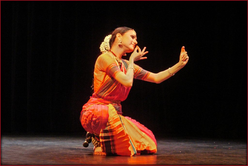 A complete performer Danseuse Rama Vaidyanathan