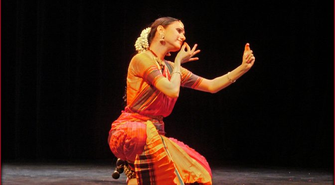 A complete performer Danseuse Rama Vaidyanathan