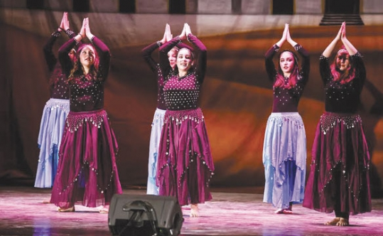 Dance studio has the right moves for Orthodox girls