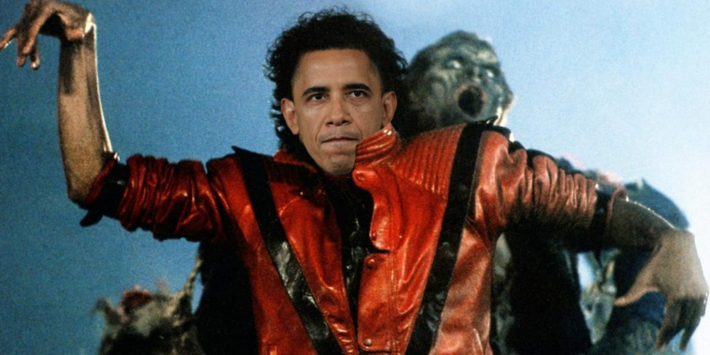 "Watch Barack Obama Dance To Michael Jackson's ""Thriller"""