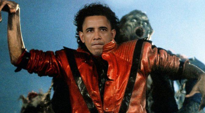 "Watch Barack Obama Dance To Michael Jackson's ""Thriller"""